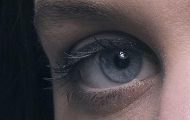 Photo de mes yeux avec mon mascara BIO