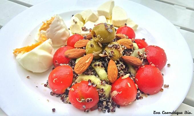 Comment cuisiner le quinoa noir eva cosmetique bio - Cuisiner avec se que j ai dans mon frigo ...